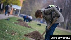 Громадська соціальна акція «Посади дерево», Харків, 31 жовтня 2011 року