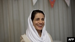 Iranian human rights lawyer Nasrin Sotoudeh (file photo)