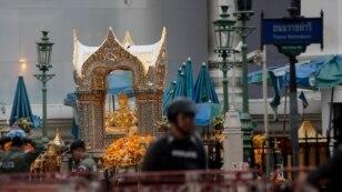 Место теракта в Бангкоке