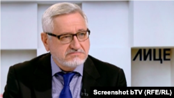 """Ангел Димитров. Скрийншот от предаването """"Лице в лице"""" на bTV."""