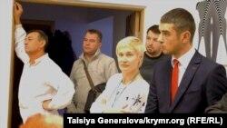 Кримські переселенці у Львові. Листопад 2014