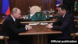 Владимир Путин һәм Бату Хасиков