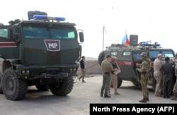 Российская военная полиция в Сирии. Зима 2020 года