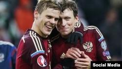 Игроки российской сборной