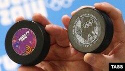 Шайбы хоккейного паралимпийского турнира в Сочи