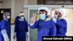 İran ruhaniləri xəstəxanada, arxiv fotosu