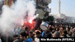 Protesti u Port Saidu, 29. januar 2013.