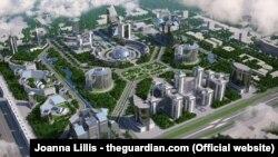 Проект Tashkent city.