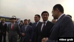 Кыргыз делегациясынын Анжияндагы жолугушуусу.