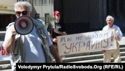 Проросійські сепаратисти в Сімферополі закликали обміняти Крим на російський газ