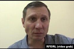 Сергей Шахов во время интервью с журналистом Радiо Свобода
