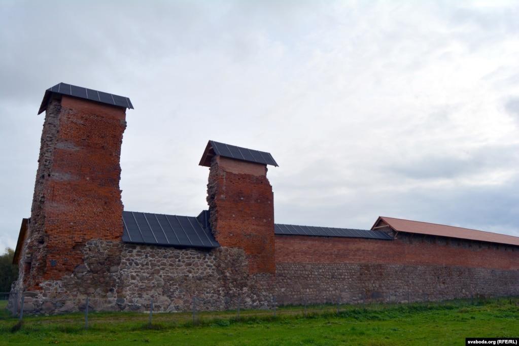 Современный вид остатков Княжеской башни