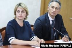 Іна Карабан і Батыр Бердыклычаў