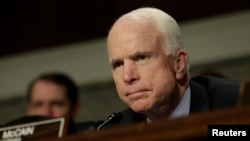U.S. Senator John McCain, chairman of the Senate Armed Services Committee (file photo)