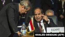 عبدالفتاح السیسی چند روز پیش بر حمایت از ارتش دولتی سوریه تأکید کرده بود