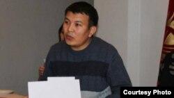 Kyrgyzstan -- Kubanych Joldoshev, investigative journalist with RFE/RL's Kyrgyz Service, 13May 2014