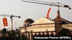 Uređenje zgrade Skupštine uoči Dana nezavisnosti