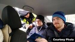Экоактивисты из Кузбасса по дороге на митинг