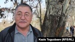 """Рысбек Сәрсенбай, """"Жас Алаш"""" газетінің бас редакторы"""