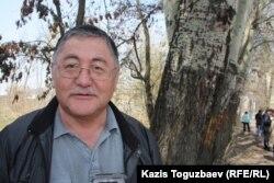 Главный редактор оппозиционной газеты «Жас Алаш» Рысбек Сарсенбай.