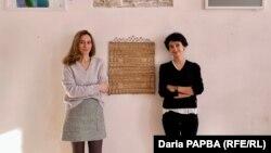 Художницы Апща Хагба и Диана Хинтба