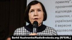 Доктор філологічних наук, професор Лариса Масенко