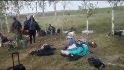 Оренбургда ай талаада калган мигранттар