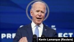 جو بایدن، رئیس جمهور منتخب امریکا