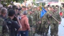 Ushtarët gjermanë largohen nga Prizreni