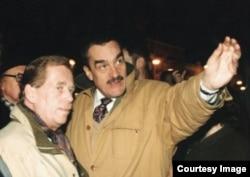 Карел Шварценберг и Вацлав Гавел. Начало 1990-х годов