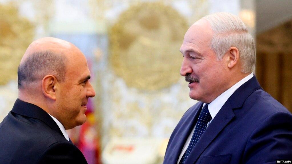 Мишустин ва Лукашенко дар Минск мулоқот карданд