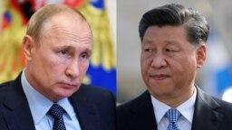 Predsednici Rusije i Kine Vladimir Putin i Xi Jinping