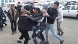 В Узбекистане люди дерутся из-за дешевой муки