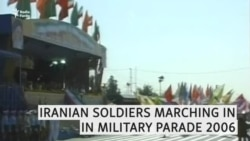 Iranian Soldiers Marching In Military Parade-2006