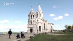 Ерменска црква во Нагорно Карабах, цел на гранатирање