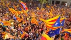 Каталонияда мустақиллик марши бўлди