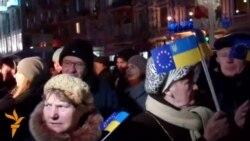 У Дніпропетровську євромайданівці вимагають відставки місцевої влади