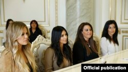 Семья Кардашьян на приеме у премьер-министра Армении