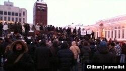 Казан, Ирек мәйданы, 10 декабрь 2011