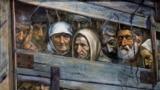 Картина художника Рустема Емінова «Поїзд смерті» з циклу про депортацію кримських татар