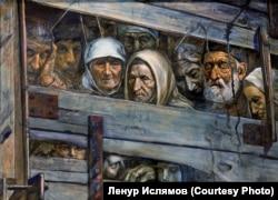 Рустем Эминов. Поезд смерти (Из собрания Ленура Ислямова)