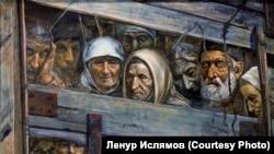 Картина Рустема Эминова «Поезд смерти»