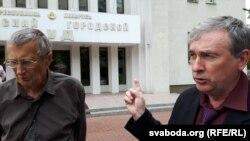 Прафэсары Аляксандар Чычко і Ўладзімер Собалеў