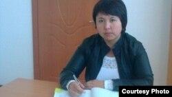 Меруерт Тундебаева приехала по программе в село Туганбай Талгарского района Талдыкорганской области.