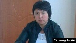 Мемлекеттік бағдарлама бойынша Туғанбай ауылына келген маман Меруерт Түндебаева. Жеке мұрағаттағы сурет.
