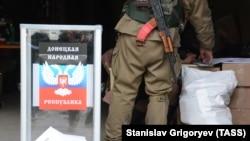 «Выборы» в «ДНР», ноябрь 2014 года. Иллюстрационное фото