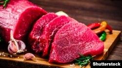 Привычное мясо выглядит так
