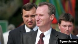 Александр Косинец (на переднем плане), глава администрации президента Беларуси.