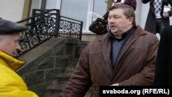 Сяргей Калякін пасьля суду ў Воршы