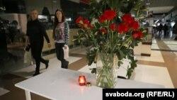 """Цветы в торговом центре """"Европа"""", 9 октября 2016"""